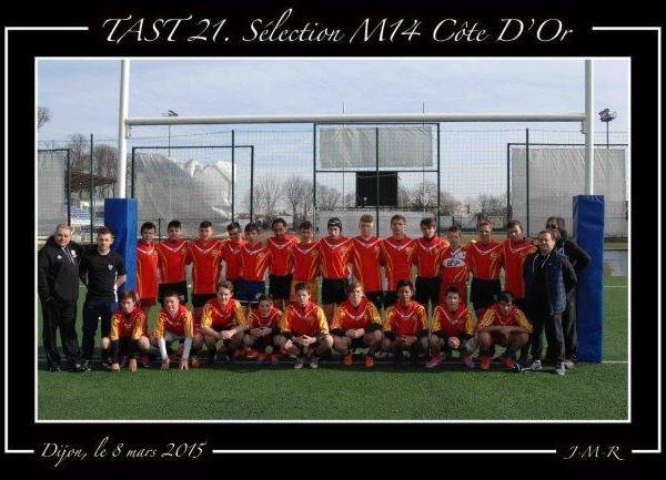 TAST 21 Sélection M14 Côte d'Or 2015_1