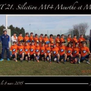 TAST 21 Sélection M14 Meurthe et Moselle