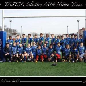 TAST21-Sélection M14 Niévre_Yonne 2015