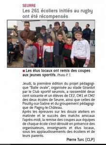 seurre ecoliers