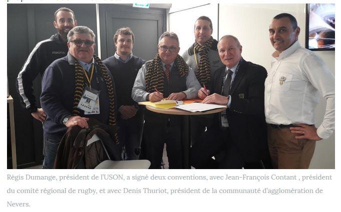 signature convention uson comite