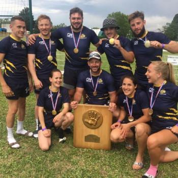 rugby a 5 CHAMPIONNE DE FRANCE MIXTE