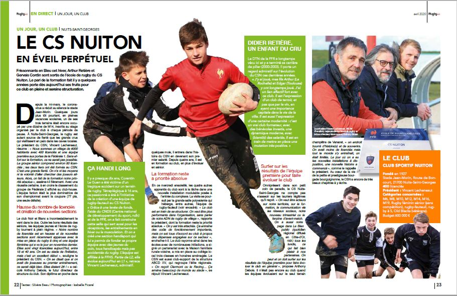 Article rugby Mag CS NUITON 02.04.20