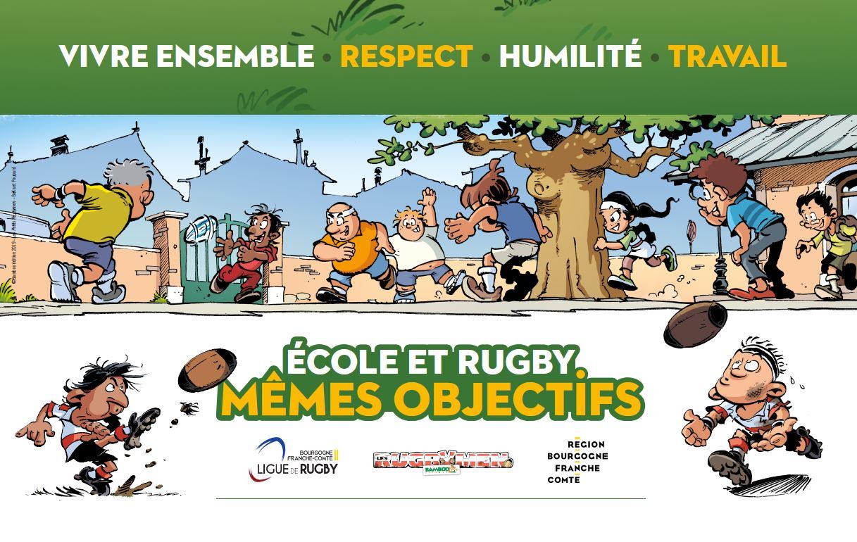 ecole et rugby memes objectifs