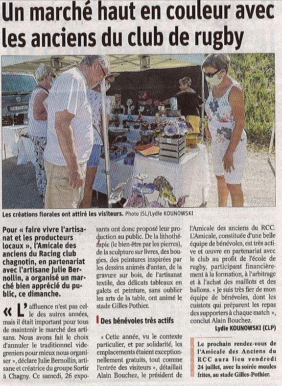 article marche rc chagny